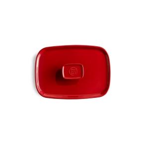 Coperchio in ceramica per pirofila 'Ultime' M rosso gran cru EH340052 Emile Henry