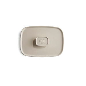 Coperchio in ceramica per pirofila 'Ultime' M bianco argile EH020052 Emile Henry