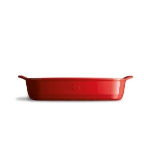 Pirofila in ceramica rettangolare 'Ultime' M rosso gran cru EH349652 Emile Henry
