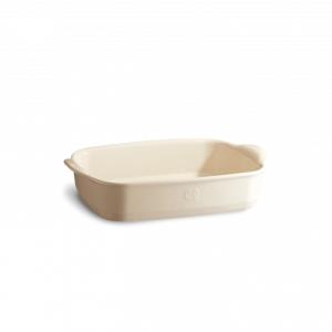 Pirofila in ceramica rettangolare 'Ultime' S bianco argile EH029650 Emile Henry