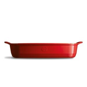Pirofila in ceramica rettangolare 'Ultime' L rosso gran cru EH349654 Emile Henry