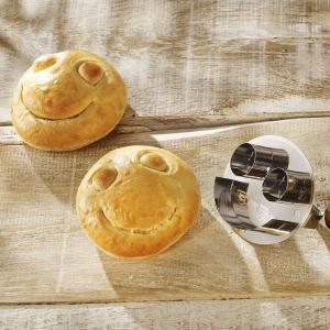 Stampo SMILEY per panini rotondi Birkmann