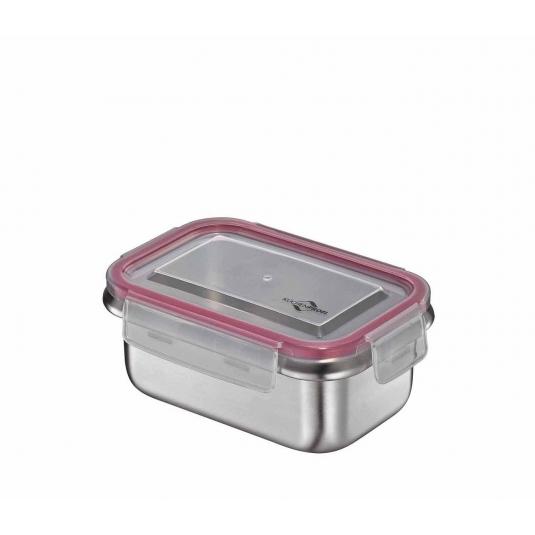 Lunchbox contenitore in acciaio inox/resina S 16,5x10cm Kuchenprofi