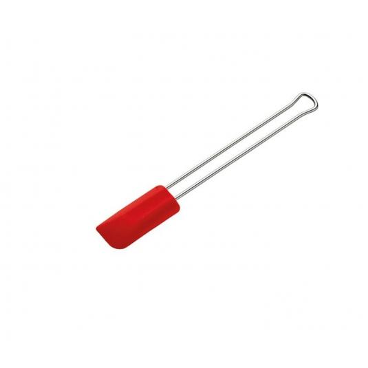 Spatola leccapiatti mini in silicone 20cm rosso Kuchenprofi