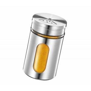 Spargispezie acciaio inox con dosatore e display 80ml Kuchenprofi