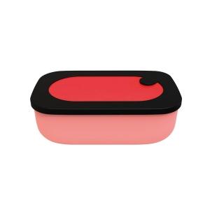 STORE&GO Luchbox ermetico con contenitore interno rosso/nero Guzzini