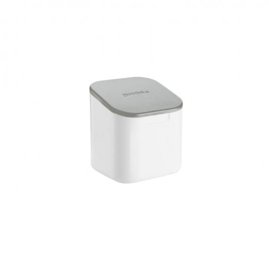 Barattolo quadrato NOT ONLY SALT bianco/grigio Guzzini