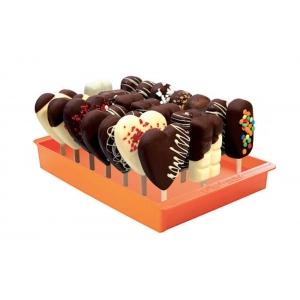 ESPOGEL UP Espositore arancione per gelati su stecco Silikomart