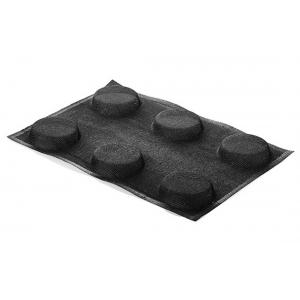 Stampo in silicone microforato 30X40 AIRPLUS 14 ROUND 6 impronte set 2 pz Silikomart
