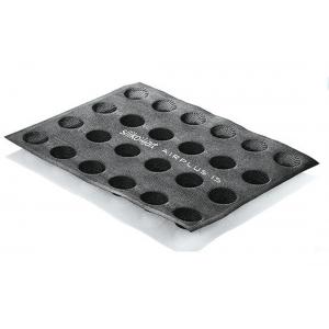Stampo in silicone microforato 30X40 AIRPLUS 15 ROUND 24 impronte set 2 pz Silikomart