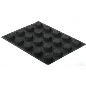 Stampo in silicone microforato 30X40 AIRPLUS 16 ROUND 20 impronte set 2 pz Silikomart