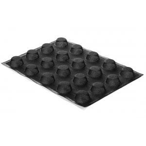 Stampo in silicone microforato 30X40 AIRPLUS 18 ROUND 20 impronte set 2 pz Silikomart