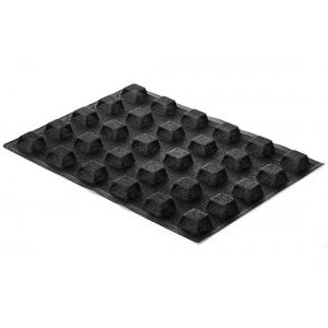 Stampo in silicone microforato 30X40 AIRPLUS 20 SQUARE 30 impronte set 2 pz Silikomart