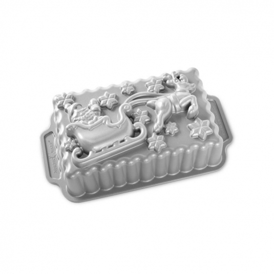 Stampo SANTA'S SLEIGH LOAF PAN NW90848 6 cups Nordic Ware