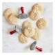 Timbri biscotti HOLIDAY NW01335 3pz Nordic Ware