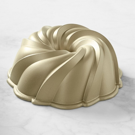 Stampo SWIRL BUNDT PAN NW94077 10 cups Nordic Ware