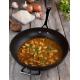 Padella wok Ø26cm in alluminio forgiato antiaderente manico lungo+maniglia Les Forgèes Le Creuset