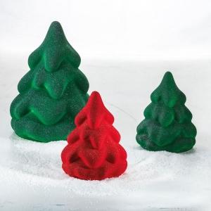 SNOW TREE KT191 Stampo termoformato per cioccolato Kit 2 alberi di Natale Pavoni