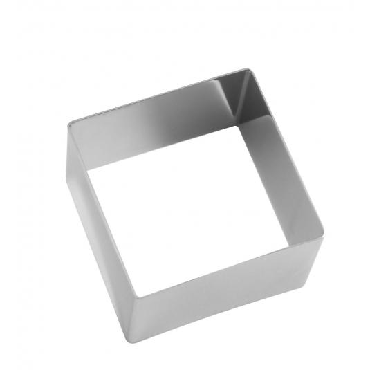 Cornice inox quadrato H4,5cm - varie dimensioni Decora