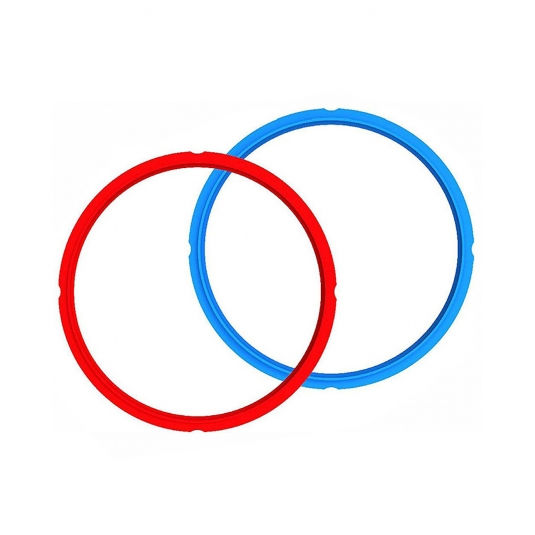 Guarnizione di sicurezza in silicone - set 2 pz (rosso e blu) 3 litri Instant Pot