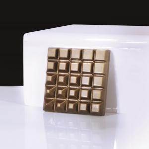 SQUARE MA2014 Stampo tavolette di cioccolato in policarbonato 6 impronte 7x7cm H1,1cm Evolution Martellato