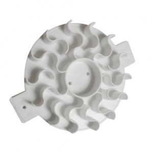 Stampo per pane - sole Ø12,5cm in plastica bianca Martellato