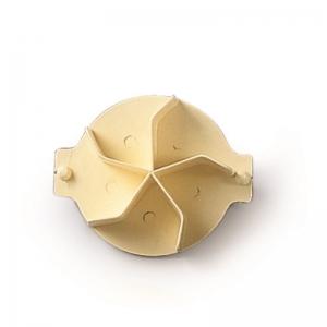 Stampo per pane - girella Ø8cm in plastica gialla Martellato