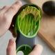 Avocado 3 in 1 Slicer Green