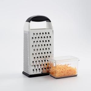 Grattugia box verticale a 4 lati con contenitore di raccolta Oxo Good Grips
