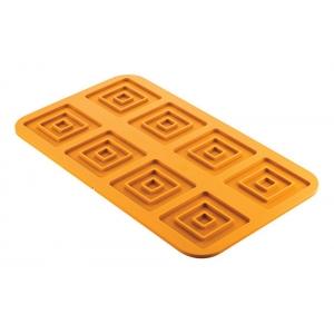 QUADRATO 3.0 Stampo in silicone 8 impronte 5,6x5,6 9,8x9,8cm H0,5cm Silikomart