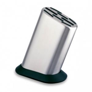 Global G-888P Ceppo portacoltelli liscio in acciaio inox 8 posti