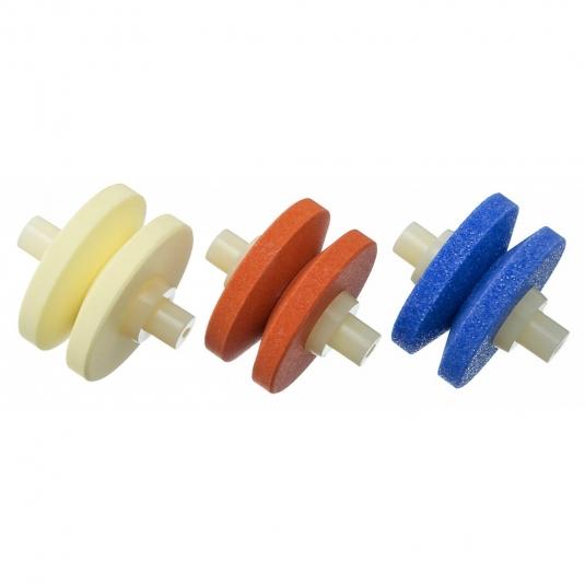 Global 555/7 Set mole di ricambio per affilacoltelli Minosharp Plus 550/GB