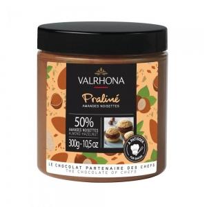 Pralinato mandorle e nocciole 50% fruttato 300gr Valrhona