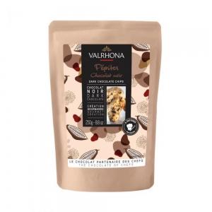 Pepite di cioccolato fondente 52% 250gr Valrhona