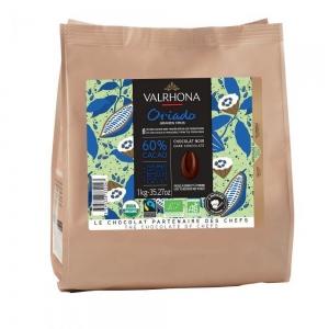 Cioccolato ORIADO 60% Sacco da 1Kg Valrhona