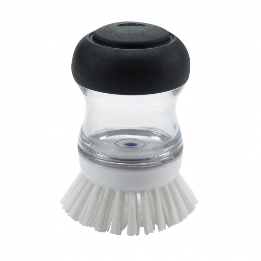 Spazzola lavapiatti con dispenser per detersivo Oxo Good Grips