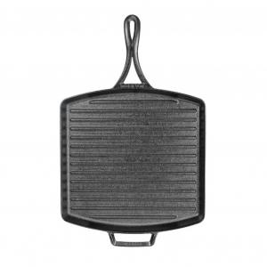 Bistecchiera quadrata in ghisa leggera e antiaderente 30,48x30,48cm BL65GP Lodge