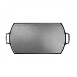 Piastra rettangolare in ghisa leggera e antiaderente 50,8x25,4cm BL77DG Lodge