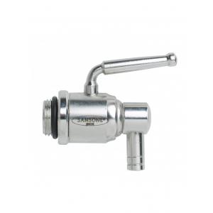 Fusto per olio/vino 3L in acciaio con rubinetto salvagoccia Mod. Europa