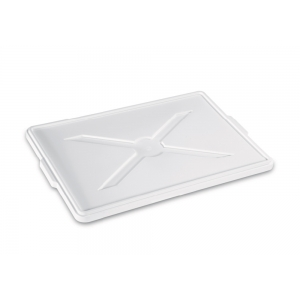 Coperchio contenitore per lievitazione di pane e impasti pizza 60x40cm H2cm Paderno