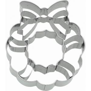 Tagliabiscotti GHIRLANDA DI NATALE in acciaio inox Birkmann