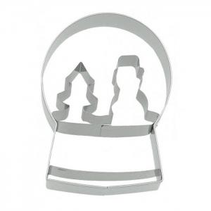 Tagliabiscotti SFERA DI NEVE in acciaio inox Birkmann