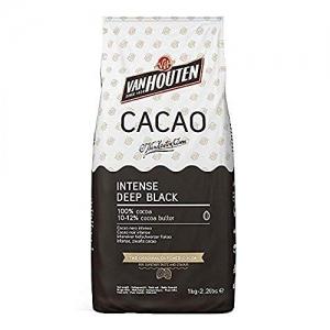 Polvere di cacao nero intenso profondo Van Houten Sacco 1kg Callebaut