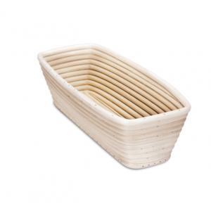 Cestino da lievitazione rettangolare 26,5x14cm H8cm per pane da 1000gr Stadter