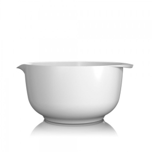 Ciotola Margarethe 4L in melamina bianca Rosti