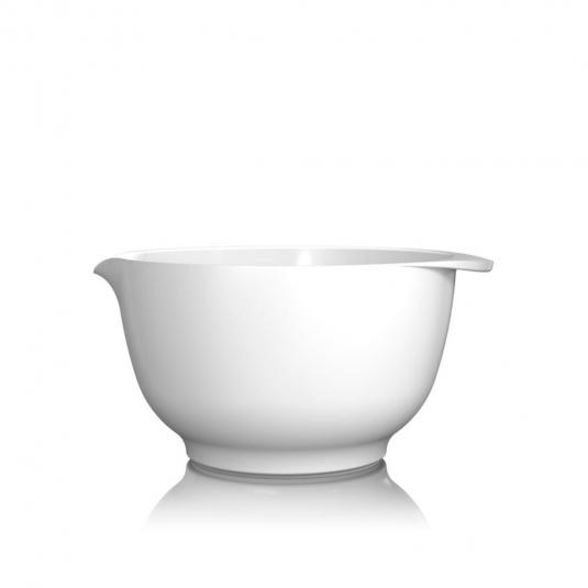 Ciotola Margarethe 3L in melamina bianca Rosti