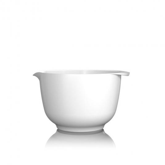 Ciotola Margarethe 2L in melamina bianca Rosti