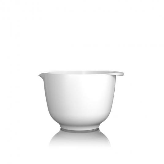 Ciotola Margarethe 1,5L in melamina bianca Rosti