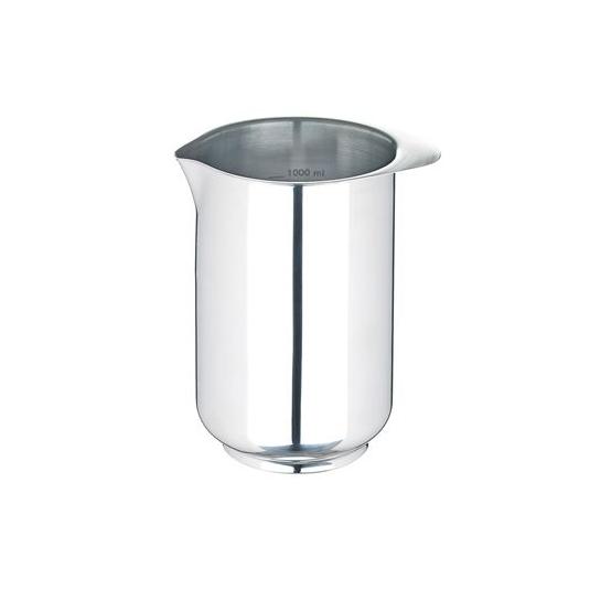 Bicchiere di miscelazione Margrethe 1L in acciaio inox Rosti