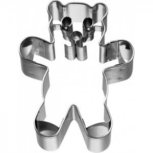 Tagliabiscotti ORSETTO TEDDY 6,5cm in acciaio inox Birkmann